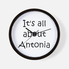 Cute Antonia Wall Clock