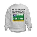 Philly Intelligence Kids Sweatshirt