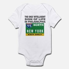 Philly Intelligence Infant Bodysuit