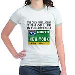 Philly Intelligence Jr. Ringer T-Shirt