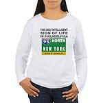Philly Intelligence Women's Long Sleeve T-Shirt