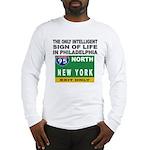 Philly Intelligence Long Sleeve T-Shirt