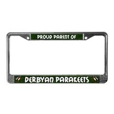 Proud Prnt Multiple Derbyan License Plate Fr