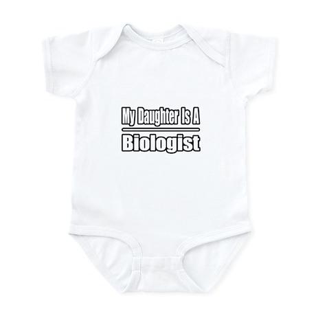"""My Daughter...Biologist"" Infant Bodysuit"