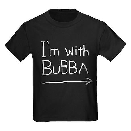 I'm With Bubba Kids Dark T-Shirt