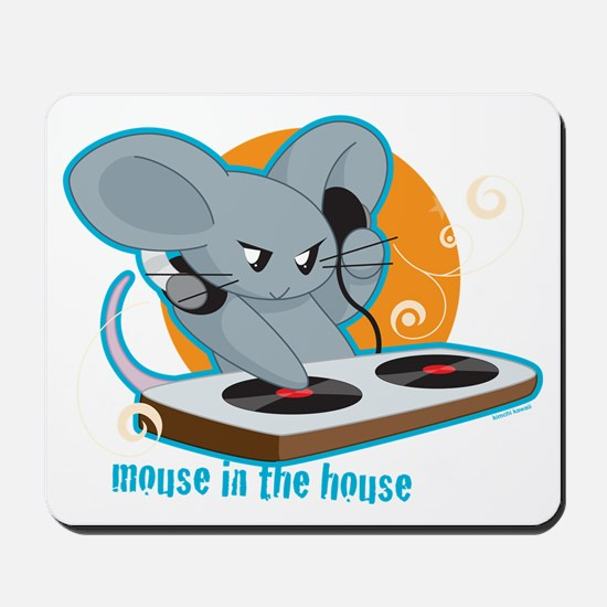 Mouse in the House Mousepad