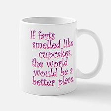Cupcake Farts Small Small Mug