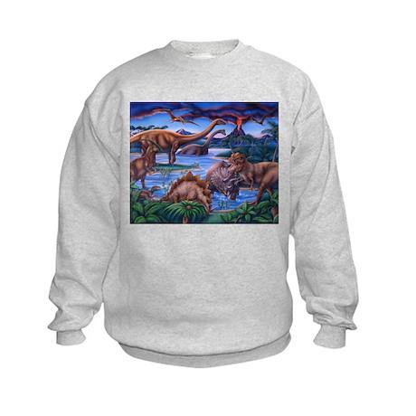 Dinosaurs Kids Sweatshirt