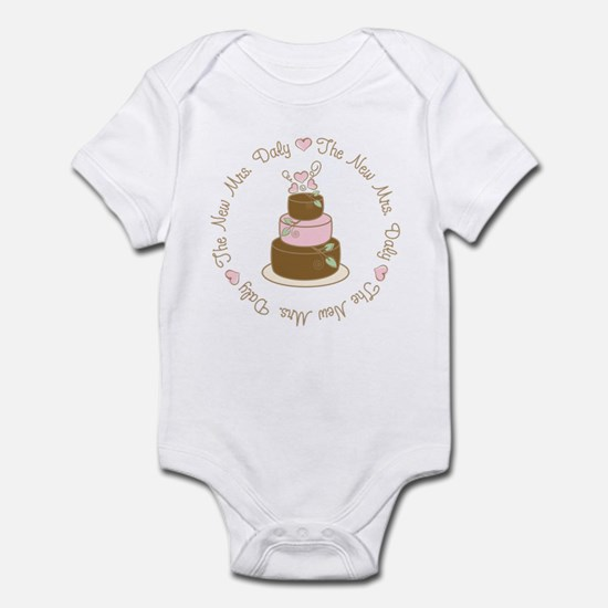 The New Mrs. Daly Personalized Infant Bodysuit