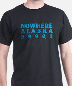 blue nowhere copy T-Shirt