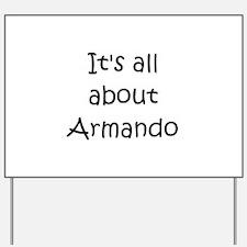Cool Armando Yard Sign