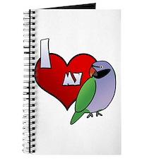 Love Derbyan Parakeet Journal