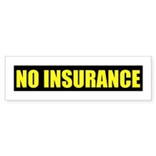 UNINSURED Bumper Sticker (10 pk)