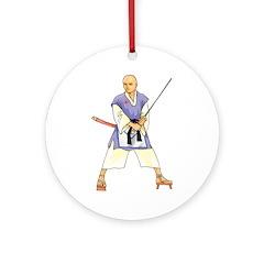 Martial Arts Freemason Ornament (Round)
