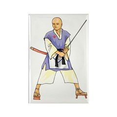 Martial Arts Freemason Rectangle Magnet (10 pack)