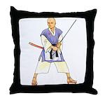 Martial Arts Freemason Throw Pillow