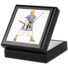 Martial Arts Freemason Keepsake Box
