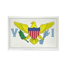 Virgin Islands Rectangle Magnet (10 pack)
