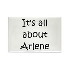 Funny Arlene Rectangle Magnet