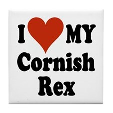 Cornish Rex Tile Coaster