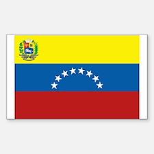 Venezuela Rectangle Decal