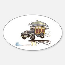 wOOdY Oval Decal