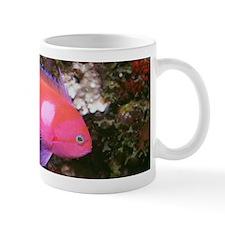 Pink and purple fish Mug