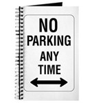 No Parking Any Time Sign - Journal