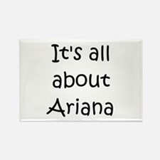 Cute Ariana Rectangle Magnet