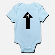 Archaeology north arrow Infant Creeper