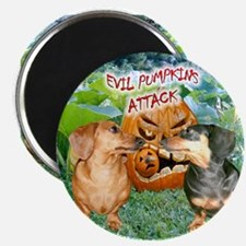 Evil Pumpkins Magnet