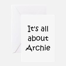 Cute Archie Greeting Card