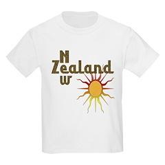 New Zealand Trendy Sunburst T-Shirt