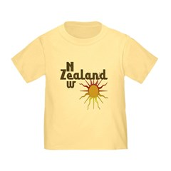 New Zealand Trendy Sunburst T