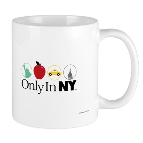 Only In NY Icons Mug