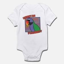 Cartoon Derbyan Parakeet Infant Bodysuit