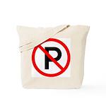 No Parking Sign - Tote Bag