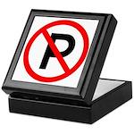 No Parking Sign - Keepsake Box