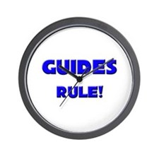 Guides Rule! Wall Clock