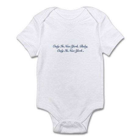 Only In New York Baby Bl Infant Bodysuit
