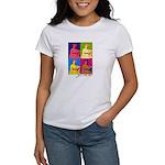Jane Austen Pop Art Women's T-Shirt