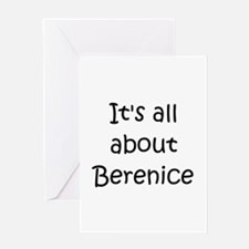 Unique Berenice Greeting Card