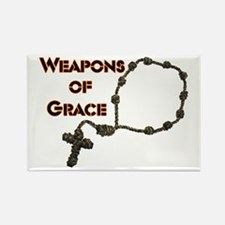 Weapons Of Grace Rectangle Magnet