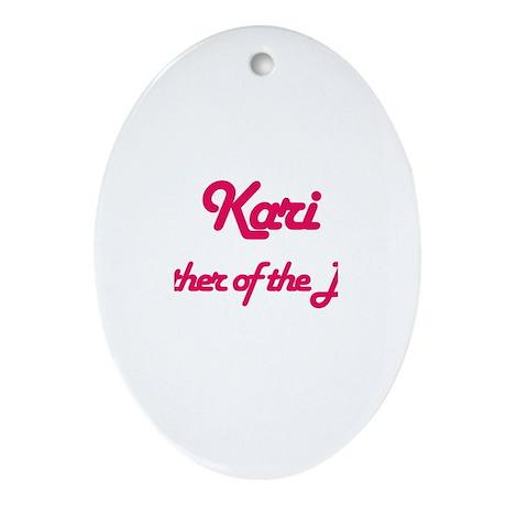 Kari - Mother of Bride Oval Ornament