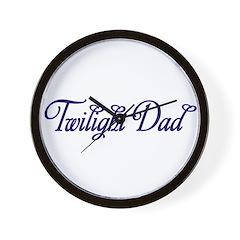 TwilightDad Wall Clock