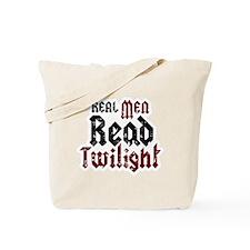 Real Men Read Twilight Tote Bag