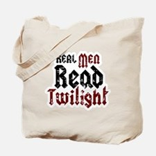 Real Men Read Twilight Tote Bag