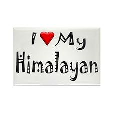 Himalayan Rectangle Magnet