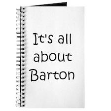 Unique Barton Journal