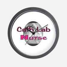 Cath Lab Nurse Wall Clock